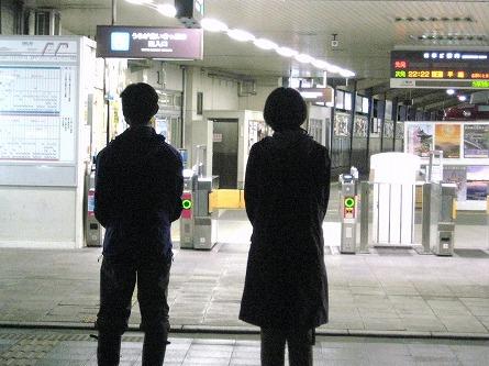 天理駅夜立ち